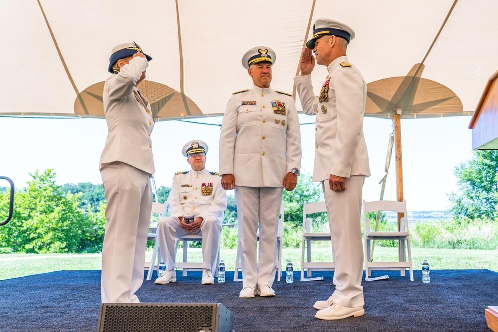 Coast Guard Vice Commandant Change of Watch