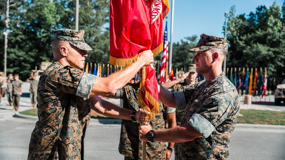 2d Recon Change of Command