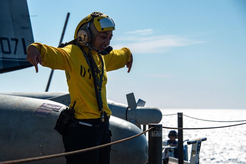 USS Carl Vinson Sailors Conducts General Quarters Drill