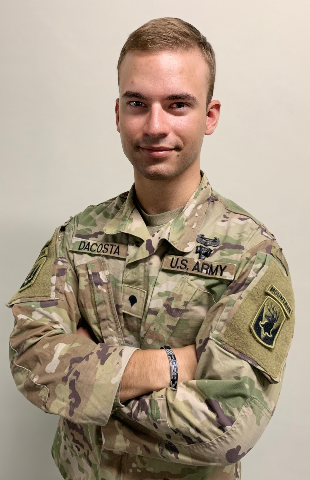 Spc. Omar Dacosta (Competitor: USARCENT Best Warrior Competition 2021)