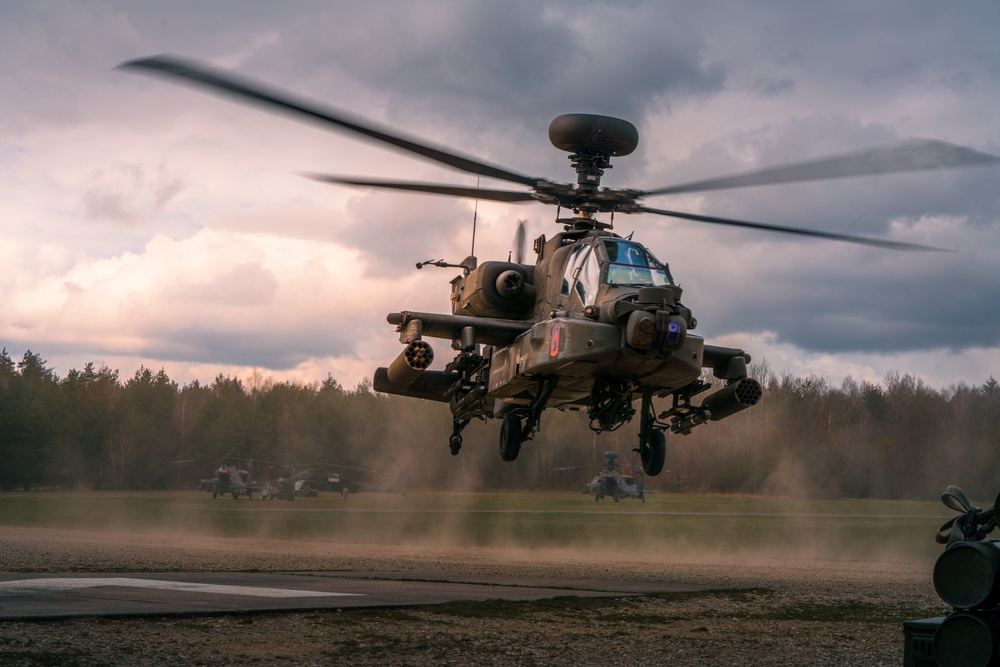 Aerial gunnery prepares 12th CAB for Defender Europe 21
