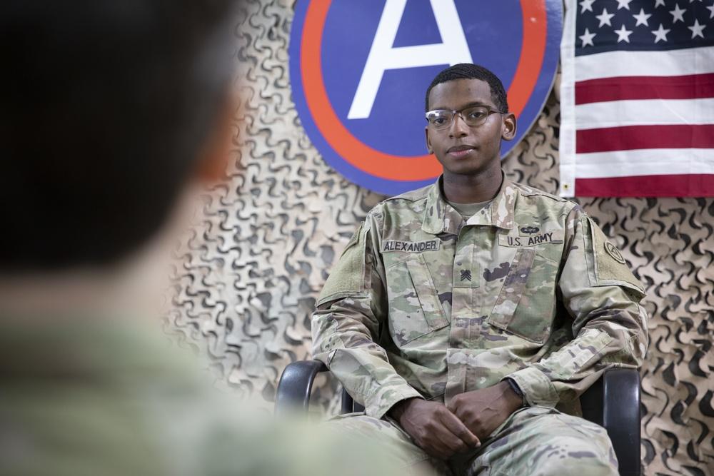 U.S. ARCENT holds Best Warrior media engagement event