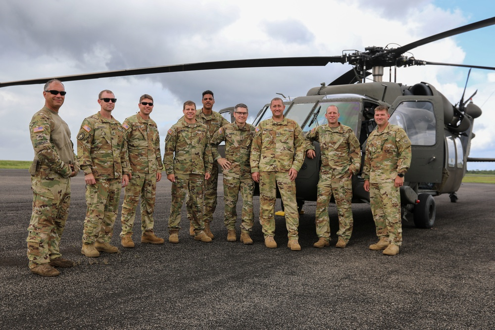 Parachute training Tradewinds 2021
