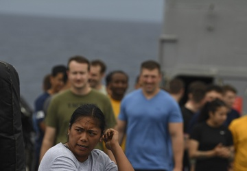 USS Shiloh June 14, 2021