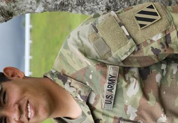 Black Lions Soldier Living His Dream as an Infantryman