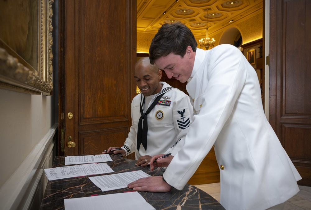 West Chester, PA native commissioned through the Navy's HPSP