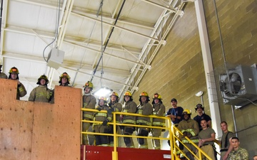 Fairchild AFB, community firefighters train together, boost partnership