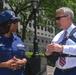 New York Congressman and staff meet with U. S. Coast Guard in New York City