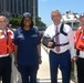 U.S. Coast Guard and NYPD meet with New York Congressman and staff