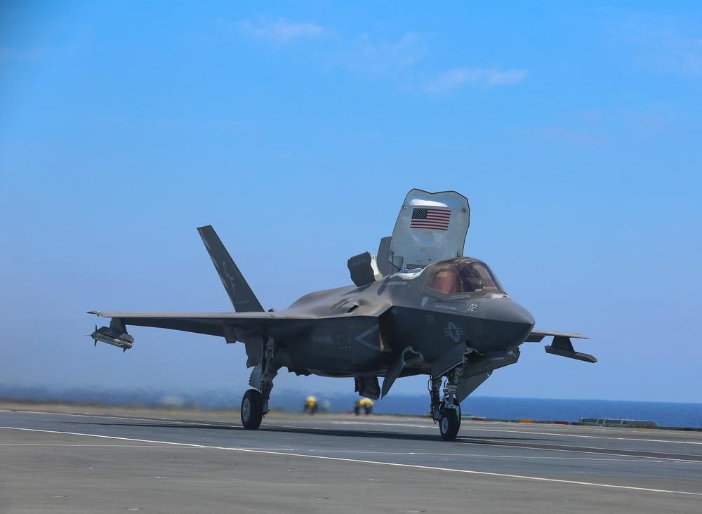 VMFA-211 Flies Combat Sorties in Support of Operation Inherent Resolve