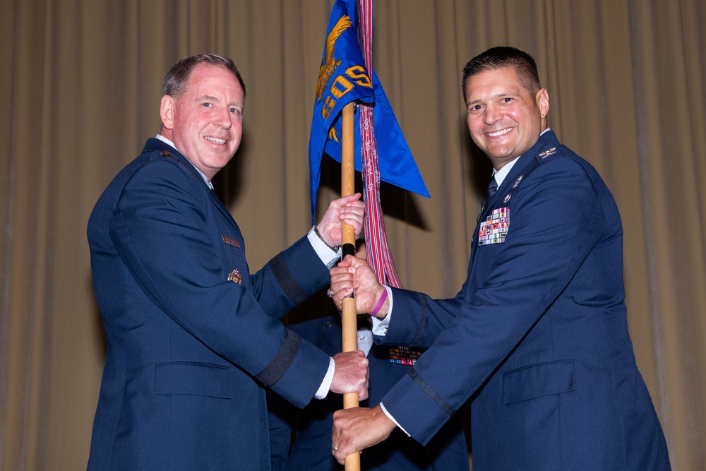 Squadron Officer School Assumption of Command Ceremony