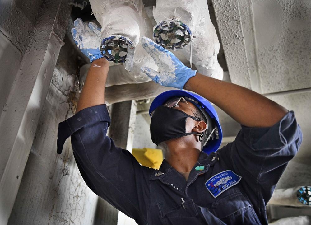 Blue Ridge Sailors Preserve Equipment