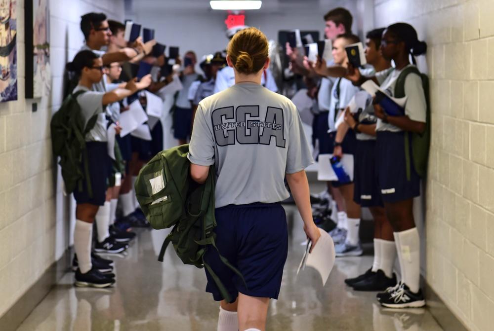 U.S. Coast Guard Academy prepares for Day One