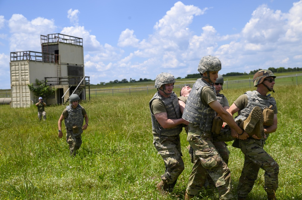 Tactical Combat Casualty Care (TCCC) completed by 188thMedical Group personnel.