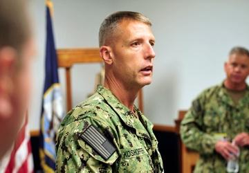 Fleet Master Chief Wes Koshoffer