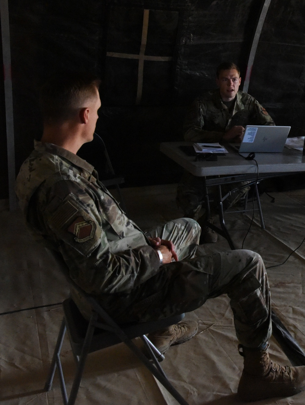 56 CONS simulates austere environment to enhance readiness