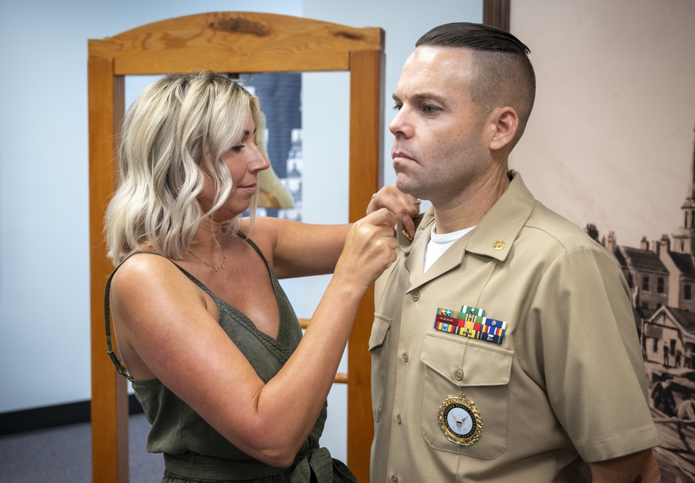 Senior Chief Petty Officer promotion