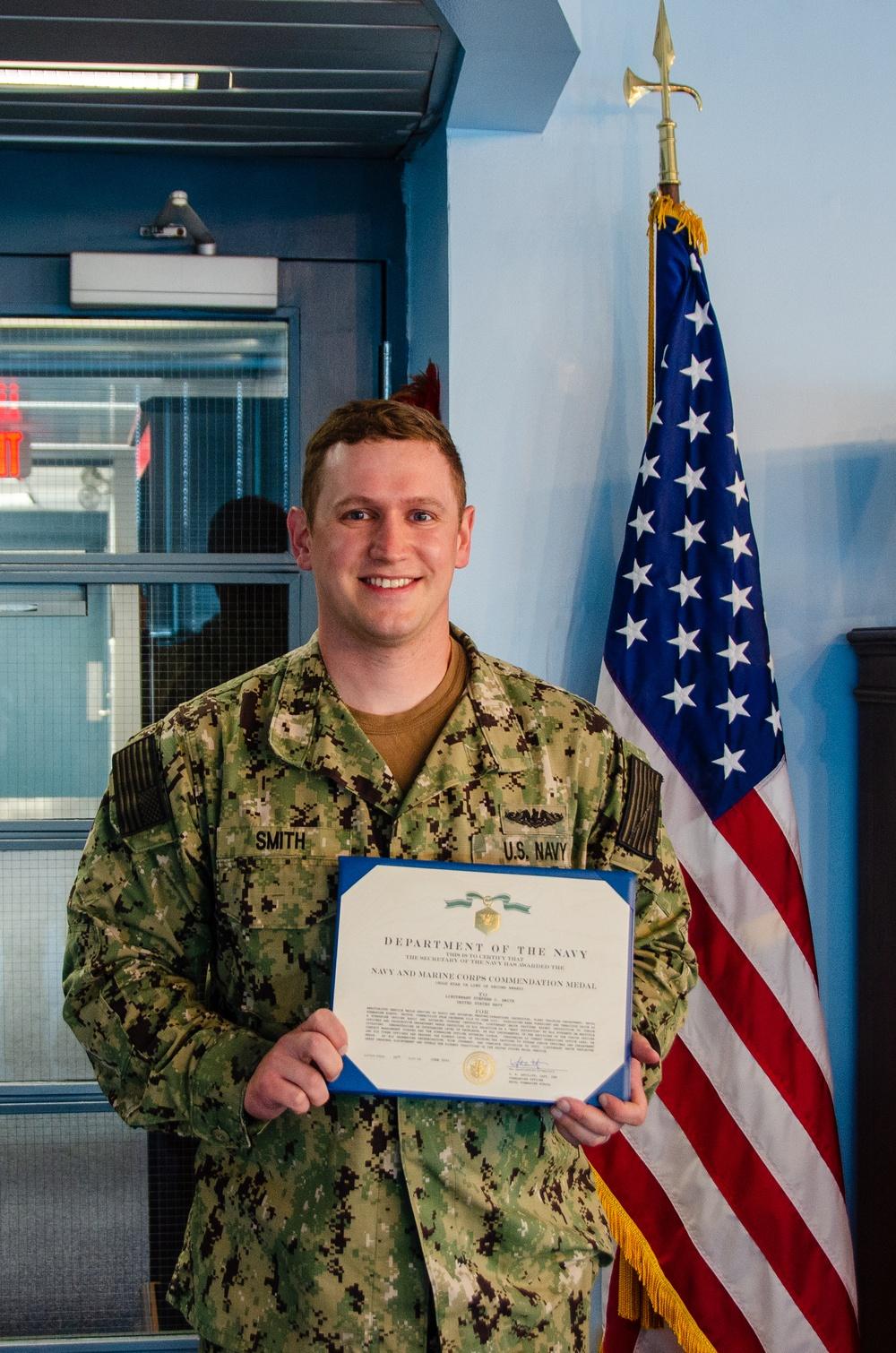 Lt. Stephen Smith End of Tour Award