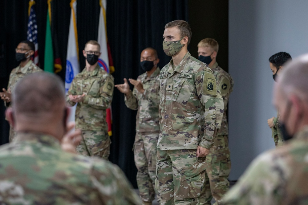 U.S. Army Central recognizes 2021 Best Warrior Competition competitors