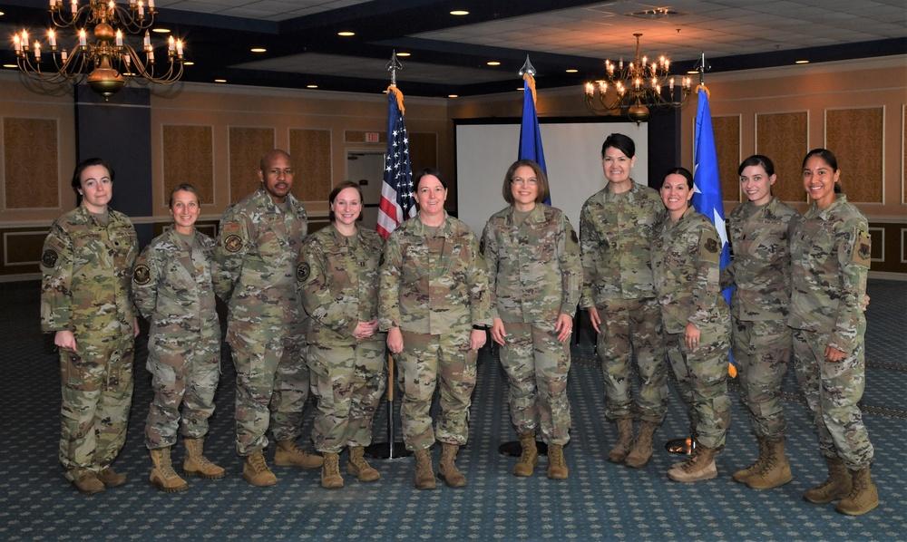 Lt. Gen. Mary O'Brien visits 363d ISR Wing