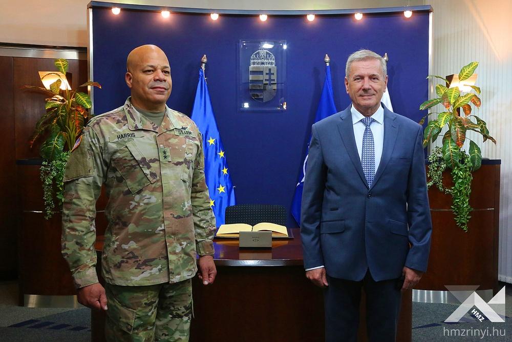 Ohio adjutant general conducts capstone visit with partner Hungary