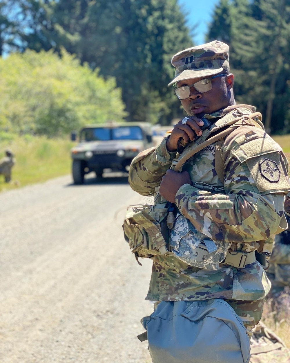 Troops step up to the challenges at Annual Training