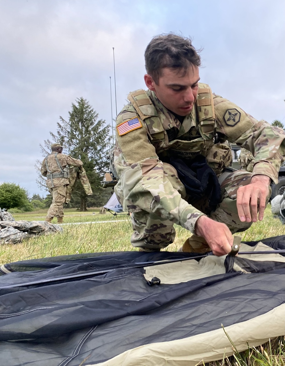 Troop step up to the challenges at Annual Training
