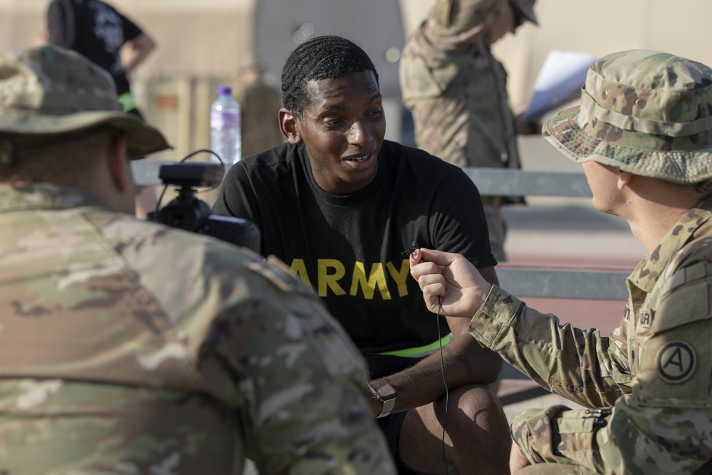 U.S. Army Central hosts 2021 Best Warrior Competition in Kuwait