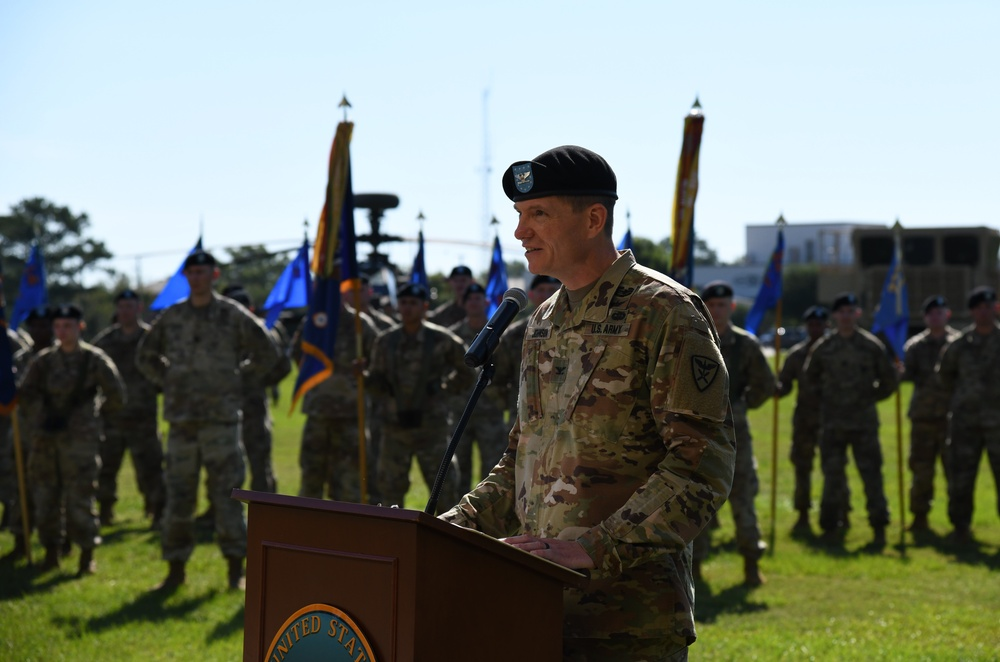 110th Aviation Brigade Change of Command