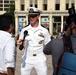 San Antonio Sailors participate in Navy Day at the Alamo during Fiesta
