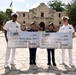Twin Brothers awarded NROTC Scholarships at Navy Day at the Alamo