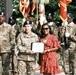 Maj. Gen. Heidi Hoyle recognizes Family members at ceremony