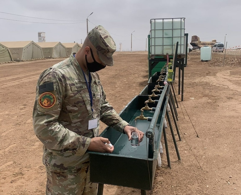 1st Area Medical Laboratory Soldiers participate in Exercise African Lion