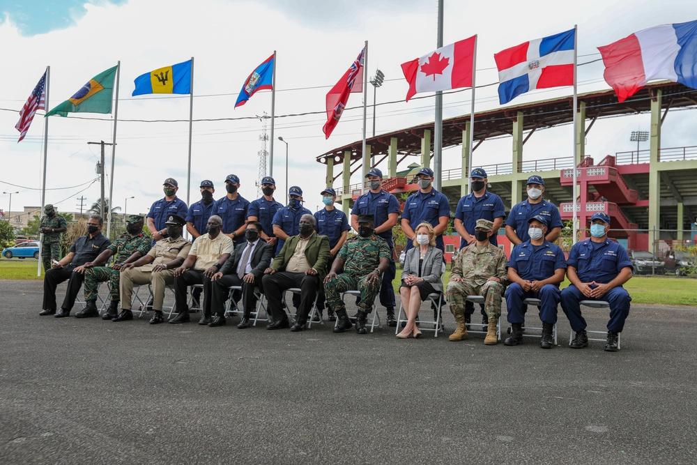 Nations bid farewells during Tradewinds 2021 closing ceremony
