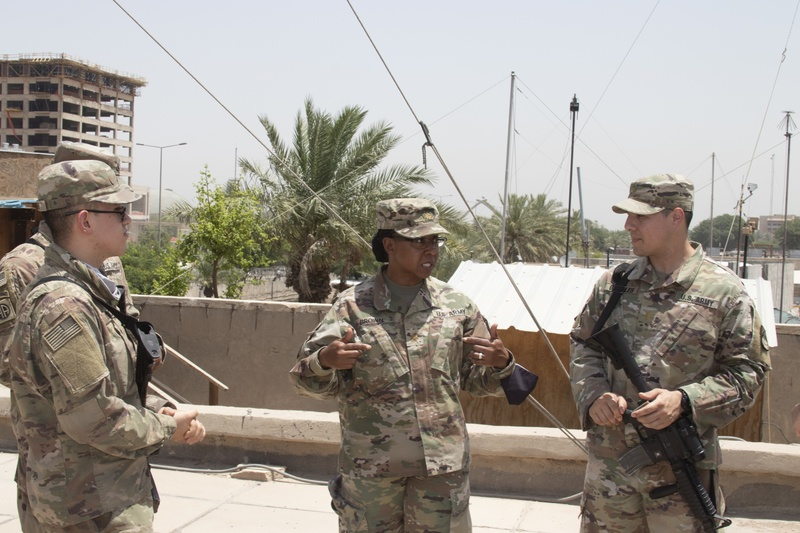 COMM-I Officers keep the signal strong in CENTCOM AOR