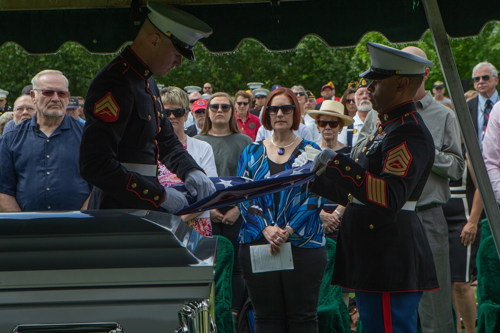 Returning to U.S. soil: Deceased World War II veteran comes home