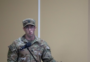 Headquarters and Headquarters Company, ASG-KU conducts Change of Command
