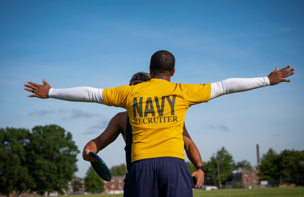NTAG Philadelphia Sailors participate in command PT
