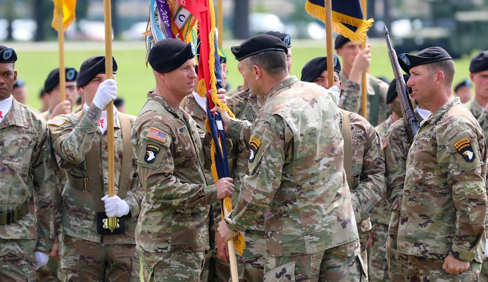 3rd Brigade Combat Team Change of Command