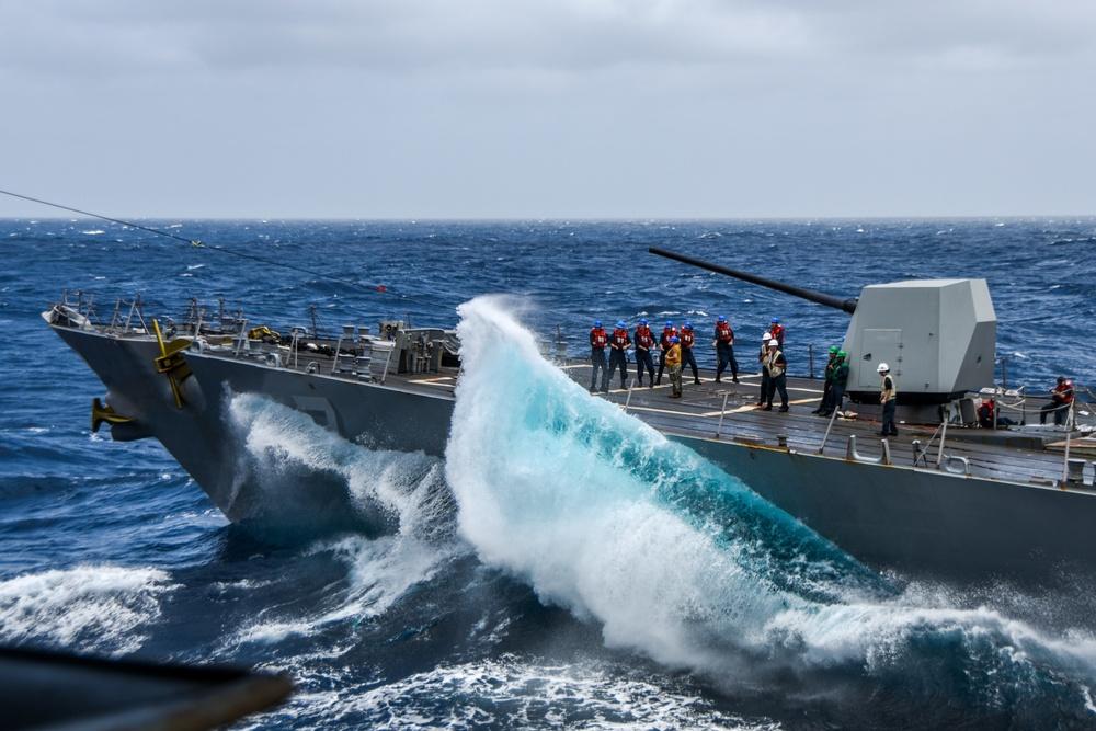 USS Ronald Reagan (CVN 76) Fueling-at-Sea