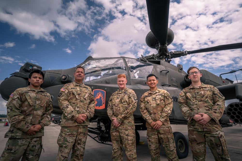 Griffin 6 takes final Apache flight