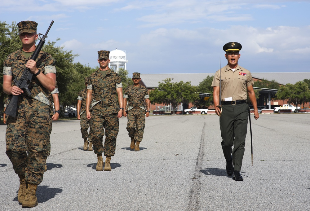 R.O.K. Marine Graduates from Drill Instructor School