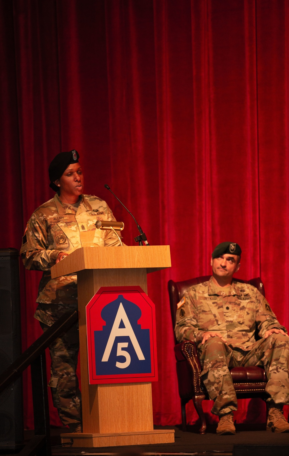 U.S. Army North HHBN conducts Change of Responsibility