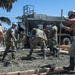 Seabees train for combat aircraft loading area construction