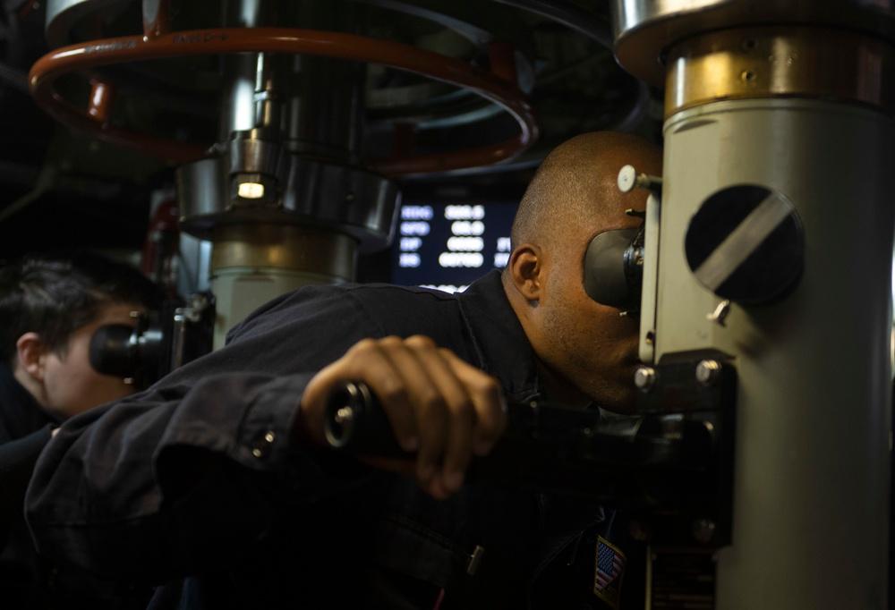 USS Alabama Conducts Patrol
