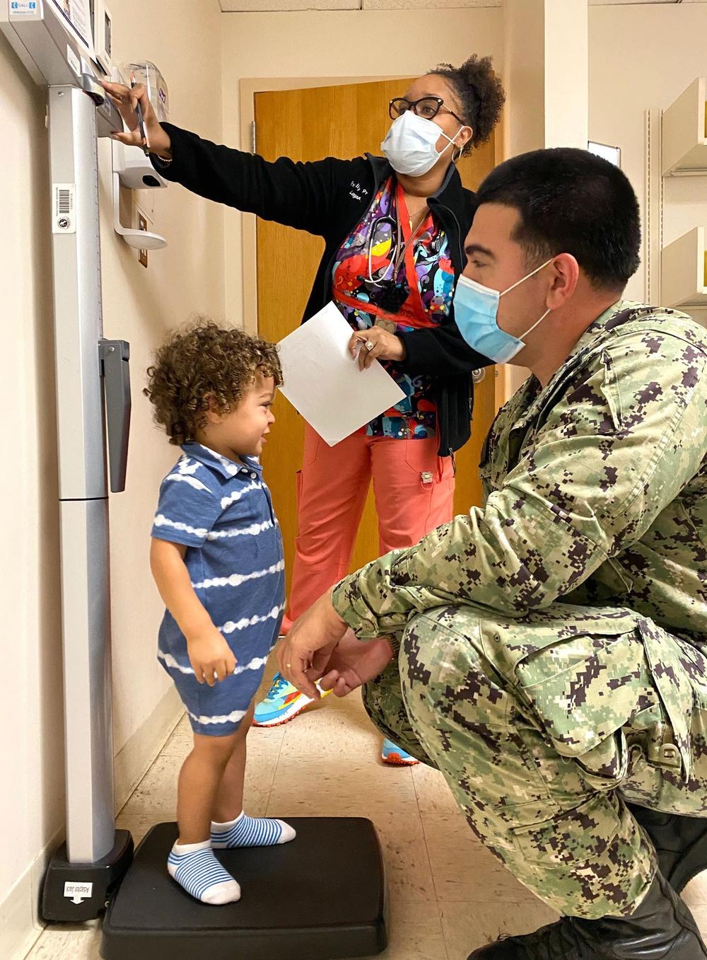 Naval Hospital Jacksonville Pediatrics Clinic