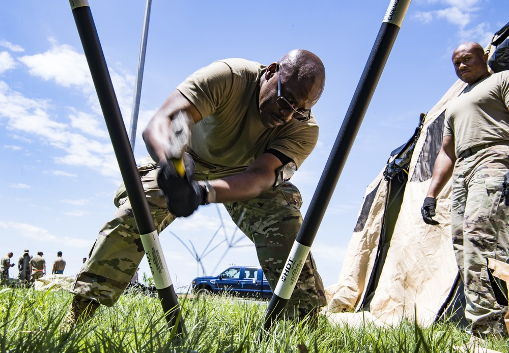 315th Contingency Response Flight conducts Contingency Response Exercise