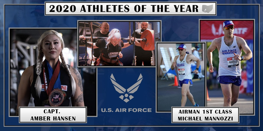 2020 Air Force Athletes of the Year