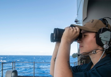 This is Ford Class: Fighting the Ship with Seaman Apprentice Britnee McMahon