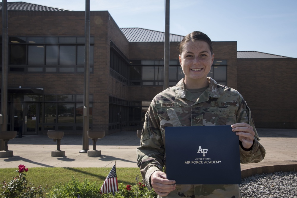 179th Airlift Wing Airman Offered Acceptance to Air Force Academy